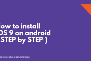 install ios 9 on android